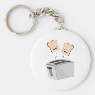 Happy Toaster Keychain