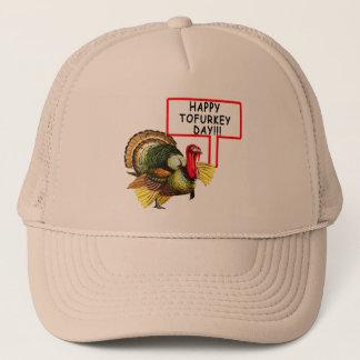 Happy Tofurkey Day! Funny Thanksgiving T shirt Trucker Hat