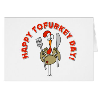 Happy Tofurkey Day Gift Card