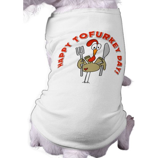 Happy Tofurkey Day Gift Pet Tee Shirt