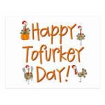 Happy Tofurkey Day Gift Postcard