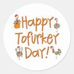 Happy Tofurkey Day Gift Sticker