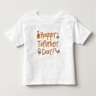 Happy Tofurkey Day Gift T Shirt
