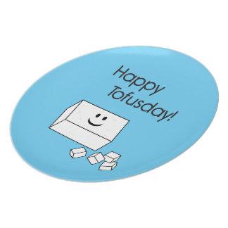 Happy Tofusday Plates