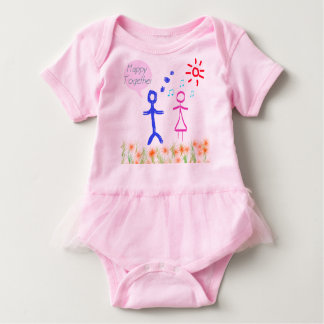 Happy together baby shirt