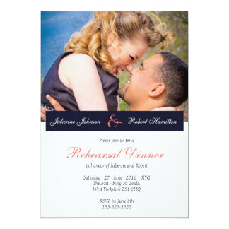 Happy Together | Photo Rehearsal Dinner Invitation