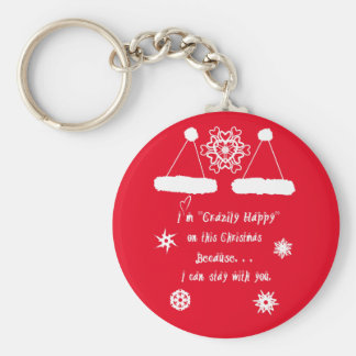 Happy Together Xmas Keychain