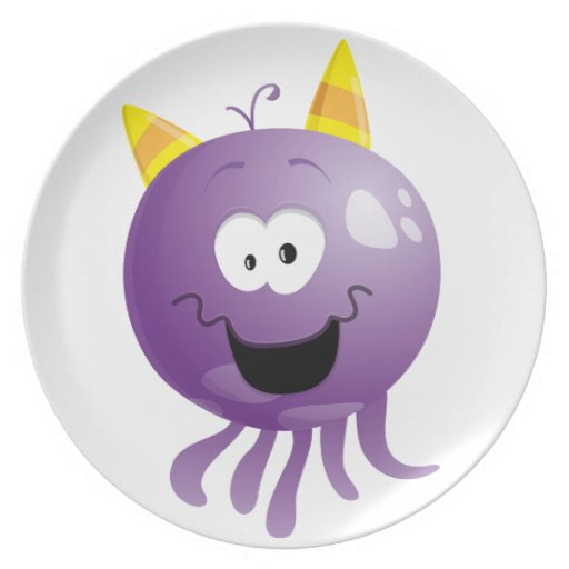 Happy Tom Dinner Plates