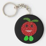 Happy Tomato Keychain