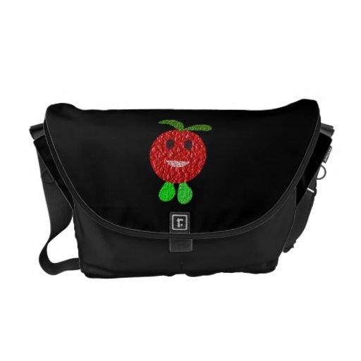 Happy Tomato Messenger Bag