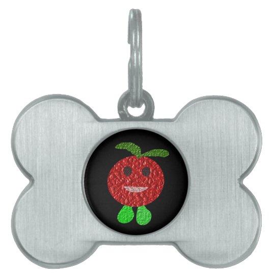 Happy Tomato Pet Tag