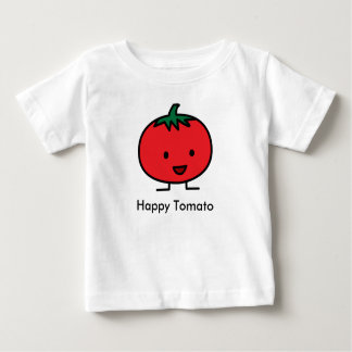 Happy Tomato Red Vegetable Fruit Baby T-Shirt