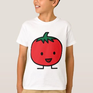 Happy Tomato Red Vegetable Fruit T-Shirt