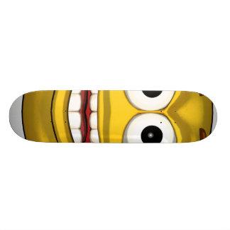 Happy-toon-black Skateboard Deck