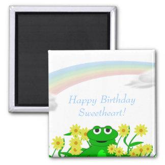Happy Toons Happy Birthday Magnet