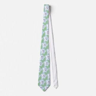 Happy Tooth Neck Tie