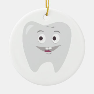 Happy Tooth Christmas Tree Ornament