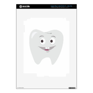 Happy Tooth Decal For iPad 3