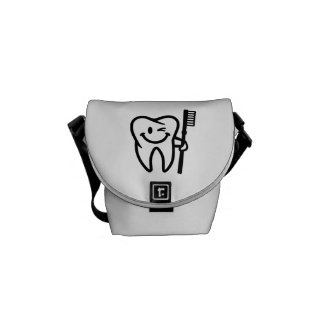Happy tooth toothbrush courier bags