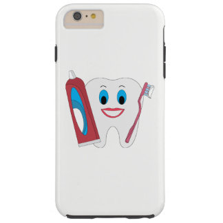 Happy Tooth Tough iPhone 6 Plus Case