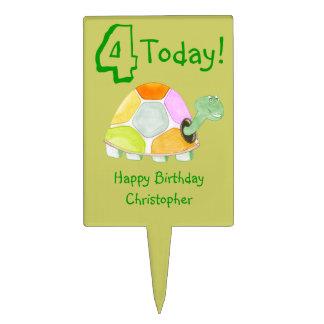 Happy Tortoise Cake Topper