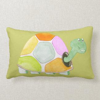 Happy Tortoise Lumbar Pillow