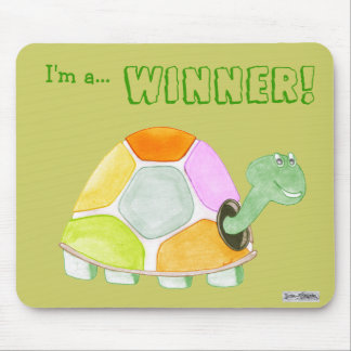 Happy Tortoise Mousemat Mouse Pad