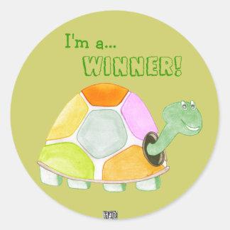 Happy Tortoise Stickers