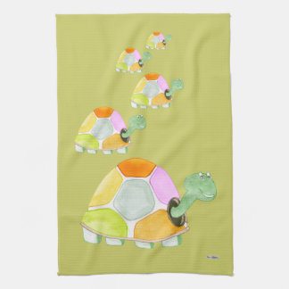 Happy Tortoise Towels
