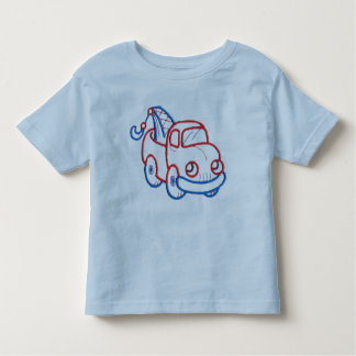 Happy Tow Truck Toddler T-shirt