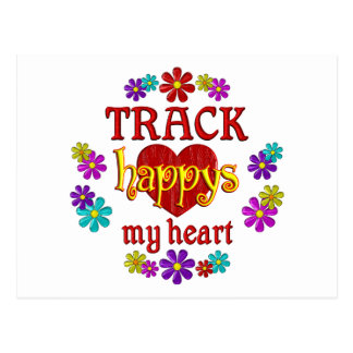 Happy Track Postcards