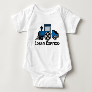 Happy Tracks Baby Bodysuit