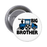 Happy Tracks Big Brother Pinback Buttons