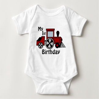 Happy Tracks/ Red Train Engine T-shirts
