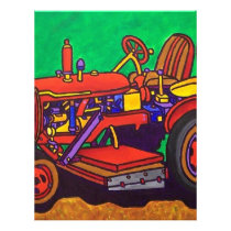 Happy Tractor by Piliero Letterhead