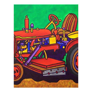 Happy Tractor by Piliero Letterhead