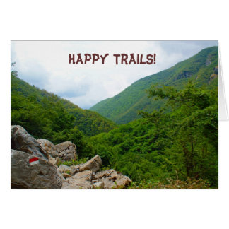Happy Trails! Greeting Cards