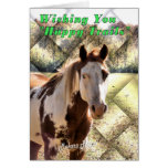 Happy Trails Marriage Greeting Card