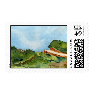 Happy Trails No.1 Griffith Park, California Postage Stamp
