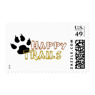 Happy Trails Postage Stamps