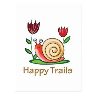 Happy Trails Postcard