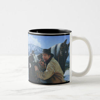 Happy Trails Two-Tone Coffee Mug
