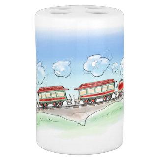 Happy train bath set