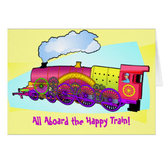 Happy Train Card