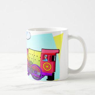 Happy Train Coffee Mug