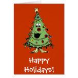 Happy tree cards