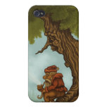happy tree fantasy iPhone speck case iPhone 4/4S Covers