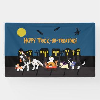 Happy Trick or Treating! Banner