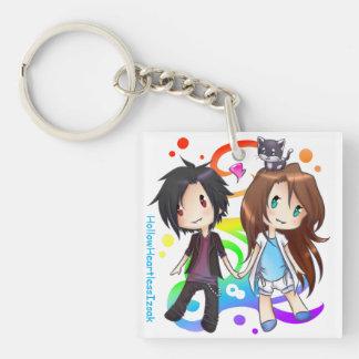 Happy Trio Keychain