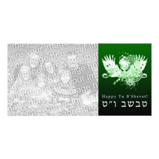 Happy Tu B'Shevat! : hi-fi tree Card